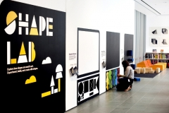 Shape Lab Art Exhibit