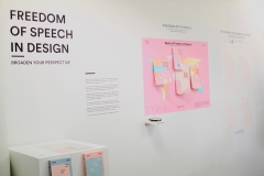 Freedom of Speech in Design Exhibit