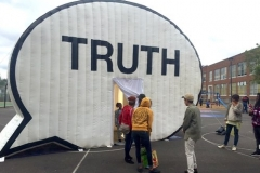Truth Pop Up Exhibit