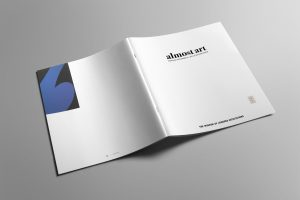 Almost Art exhibit catalog