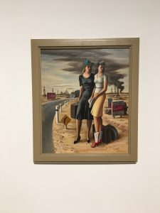Oil Field Girls painting